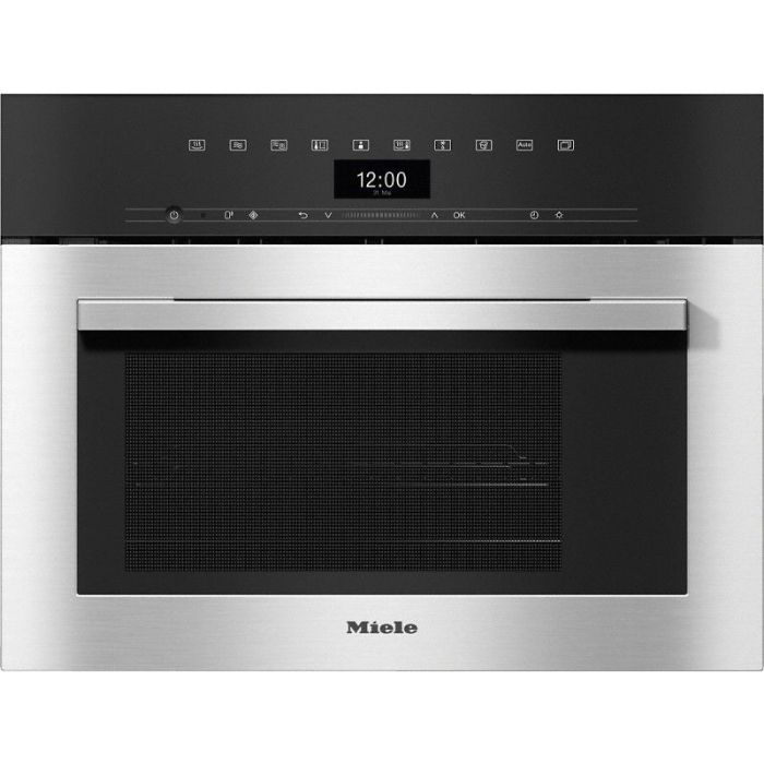 MIELE DGM7340 compact steam combination oven with microwave